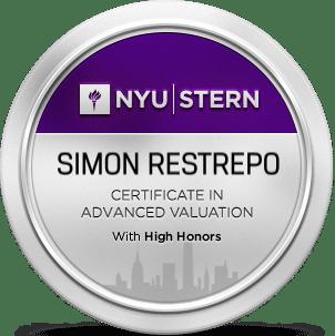 Certificado NYU